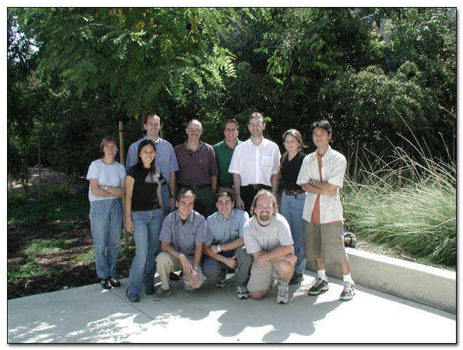 Group photo taken in July 2002