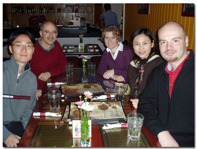 Group photo taken in January 2006