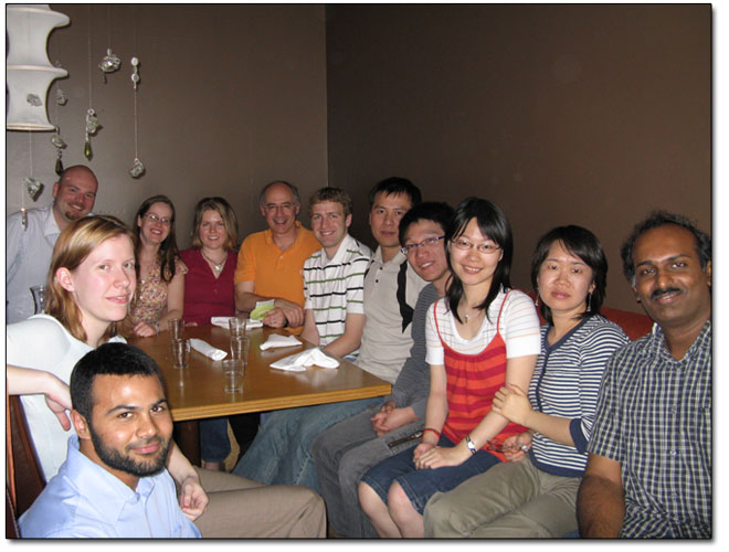 Group photo taken in May 2008